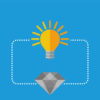 diamond battery graphic