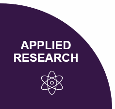 A segment of a pie chart diagram highlighting Applied Research Membership.